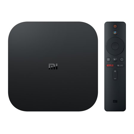 a439783419d Xiaomi Mi Box S 4K HDR Android TV with Google Assistant Remote Streaming  Media Player now with FREE $10 VUDU CREDIT - Walmart.com